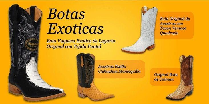 Botas Exoticas