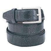 Auténtico Avestruz Cinturón