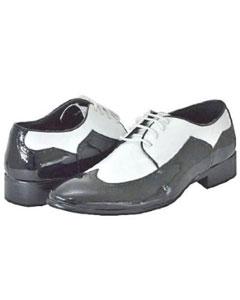 Negro y Blanco Zapatos