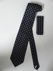 Corbata W/ Pañuelo Azul