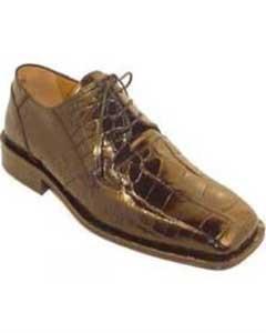 Color Auténtico Caimán Zapatos
