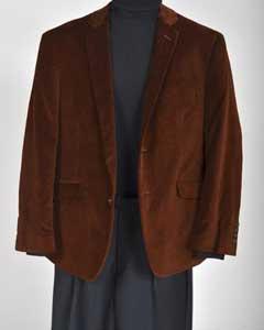 marrón terciopelo capa de