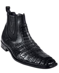 Caimán Vientre Negro Vestir