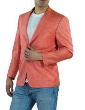 Solapa 100% Lino Coral