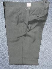 Negro 100% Lana Pantalones