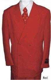 hombre rojo 2 piezas