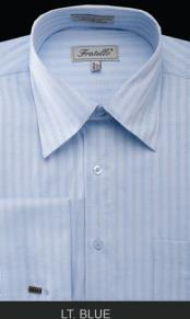 Azul Tweed Raya Francés