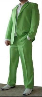 Brillante Verde Bonito Cortar