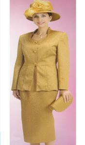 Couture promocional Oro Traje