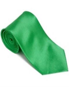 verde Corbata Sólida de