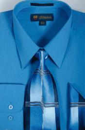 Azul Milán Moda Algodón