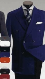IG120 Blazers Moda Hombres