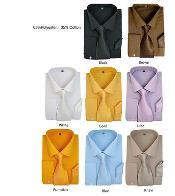 Color Formal Vestir Camisa