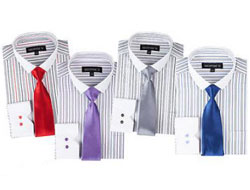 A rayas Vestir Camisa