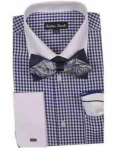 Tonificado Blanco Collar Vestir