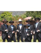 los hombres occidental Traje