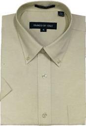 Camisa Verano Vestir Botón