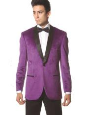 pecho Púrpura Chal Collar