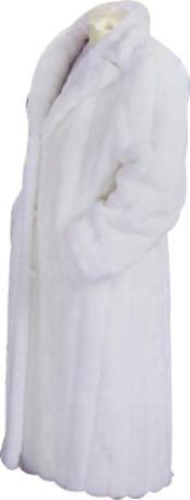 Larga Masculina Abrigo de
