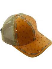 Béisbol Gorra Avestruz Caimán