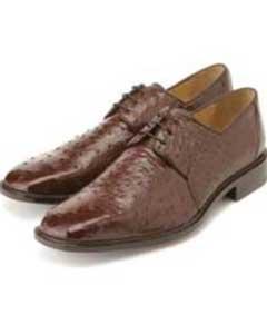 Auténtico Avestruz Belvedere Zapatos