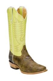 BJ790 Lime Bison Botas