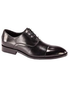 SKU*SD16  de los hombres Cuero Cordón - arriba Oxford Vestir Zapatos Negro