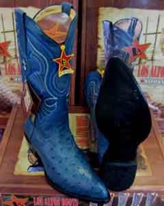 Altos Vaquero Azul Auténtico