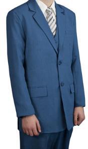 Teal Azul Vestir Trajes
