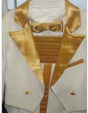 Tailcoat Dos Tonificado Oro