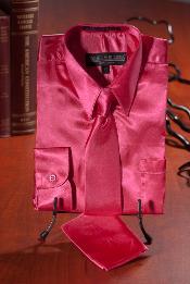 Caliente Rosado Satín Vestir