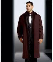 poliéster largo zanja abrigos