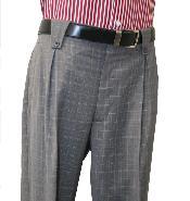 carbón Pierna ancha pantalón