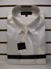 SKU * GJ766 Camisa Nueva Crema Marfil vestido de satén Tie Combo camisas de los hombres de