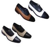 Con Blanco Vestir Zapatos