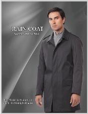 SKU * Estilo: R69714R- modelo: Escudo Rudy Raincoat-Trench Modelo Medianoche Negro