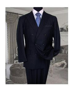 SKU *TY56 TS-32 firma platinum mantiene fresco tailored azul marino 150 del juego extra fino mano doble breasted hecho