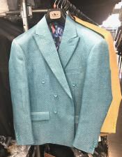 Doble pecho chaqueta de