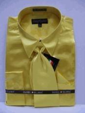 SKU * JD113 Camisa de raso vestido de New Gold Tie Combo camisas hombres de