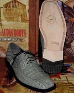 Gris caimán Vestir Zapato