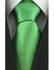 Corbata Verde Lima con