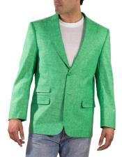 Solapa Lino Verde Hilo