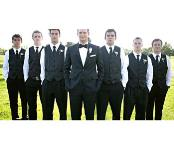 Novios hombres Chaleco Con