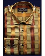 Botón Alto Collar marrón