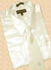 HS900 Camisa satinado vestido