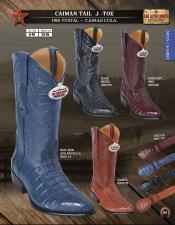 SKU*HA1251 Auténtico exótico Caimán Los Altos hecho Dedo del pie Vaquero diseñado bota