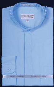 Azul Unidos Collar Vestir