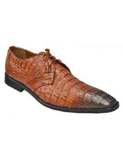 SKU*PN_A6 Coñac con Marrón Sombreado Caimán Los Altos Zapatos