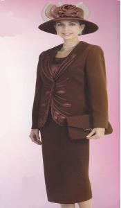Couture promocional marrón Traje