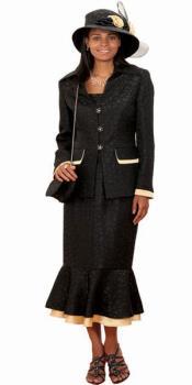 Couture Negro Con Oro